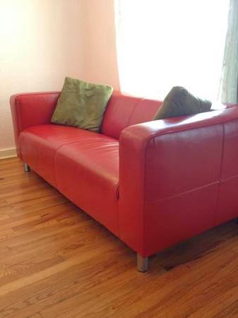 Thou shall craigslist saturday april 19 2014 - Ikea red leather sofa ...