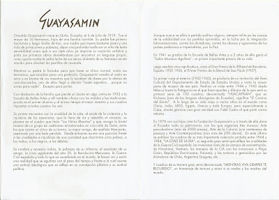 Guayasamín Biography (in Spanish)