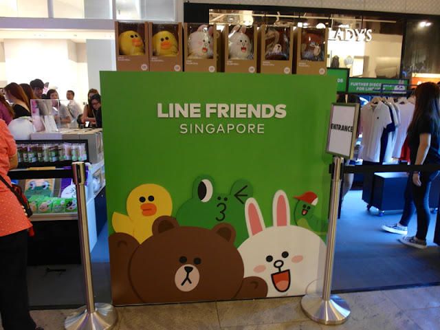 LINE FRIENDS SINGAPORE POP-UP STORE 2015 313@SOMERSET
