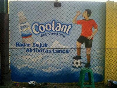 Lukis Dinding Lapangan Futsal