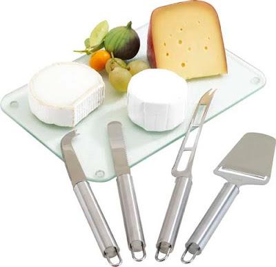 Utensilios de cocina cuchillos para queso set para - Cuchillo cortar queso ...