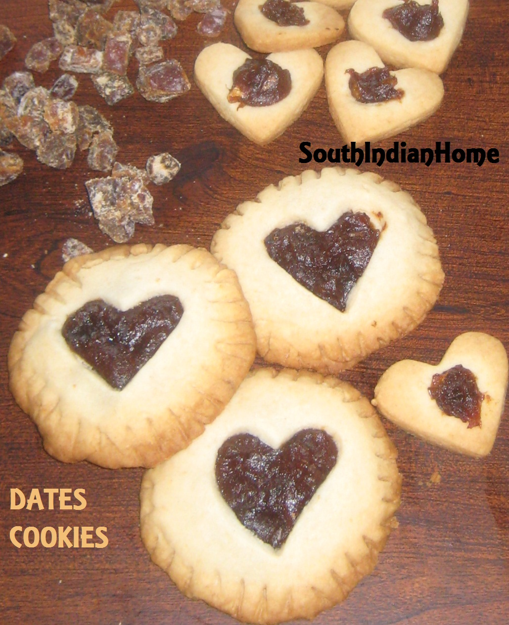Recipe for date filled cookies