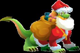 imagen del dragon santa claus adulto