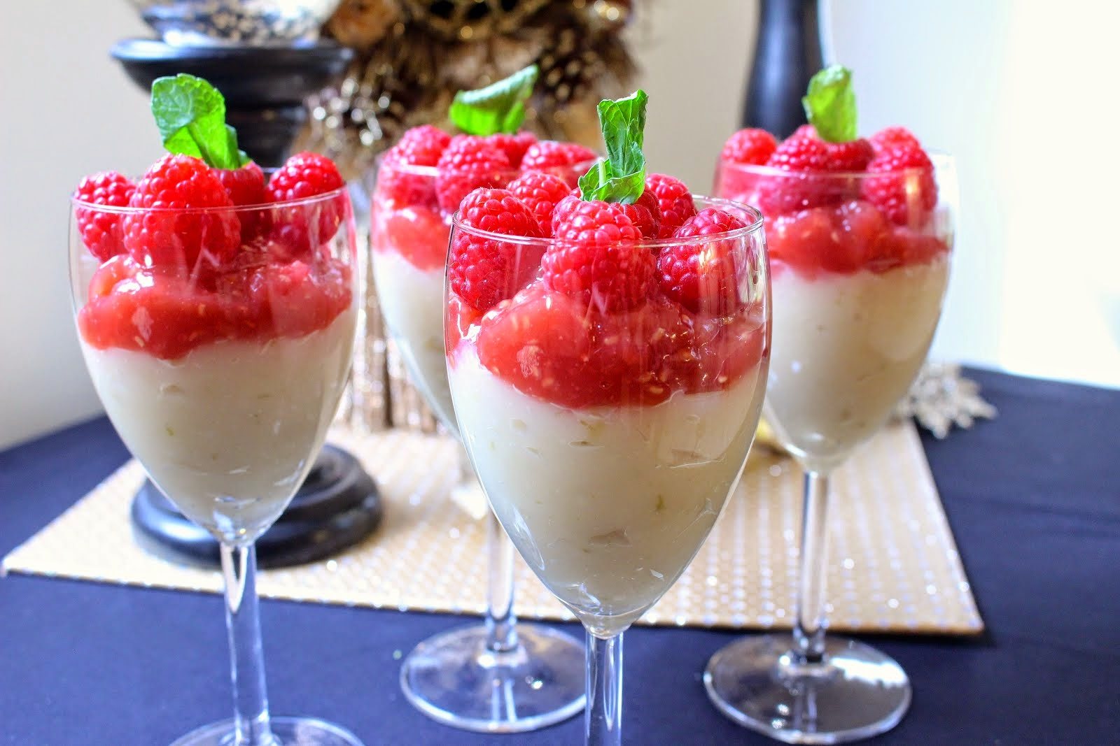 Lemon Raspberry Parfait
