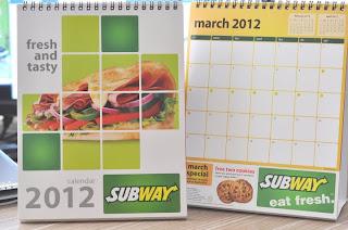 Subway-Calendar