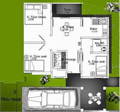 desain rumah sederhana dengan fasade yang banyak diminati
