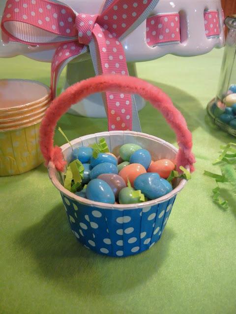 Diy Easter Favor Baskets Michelle 39 S Party Plan It