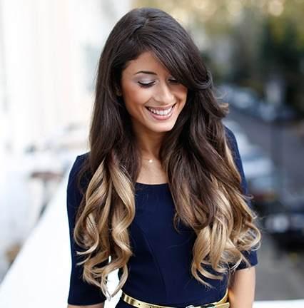 Moda cabellos mechas californianas de color fantas a 2015 for Imagenes de mechas