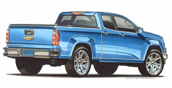 2015 Chevrolet Colorado Debut Coming Soon