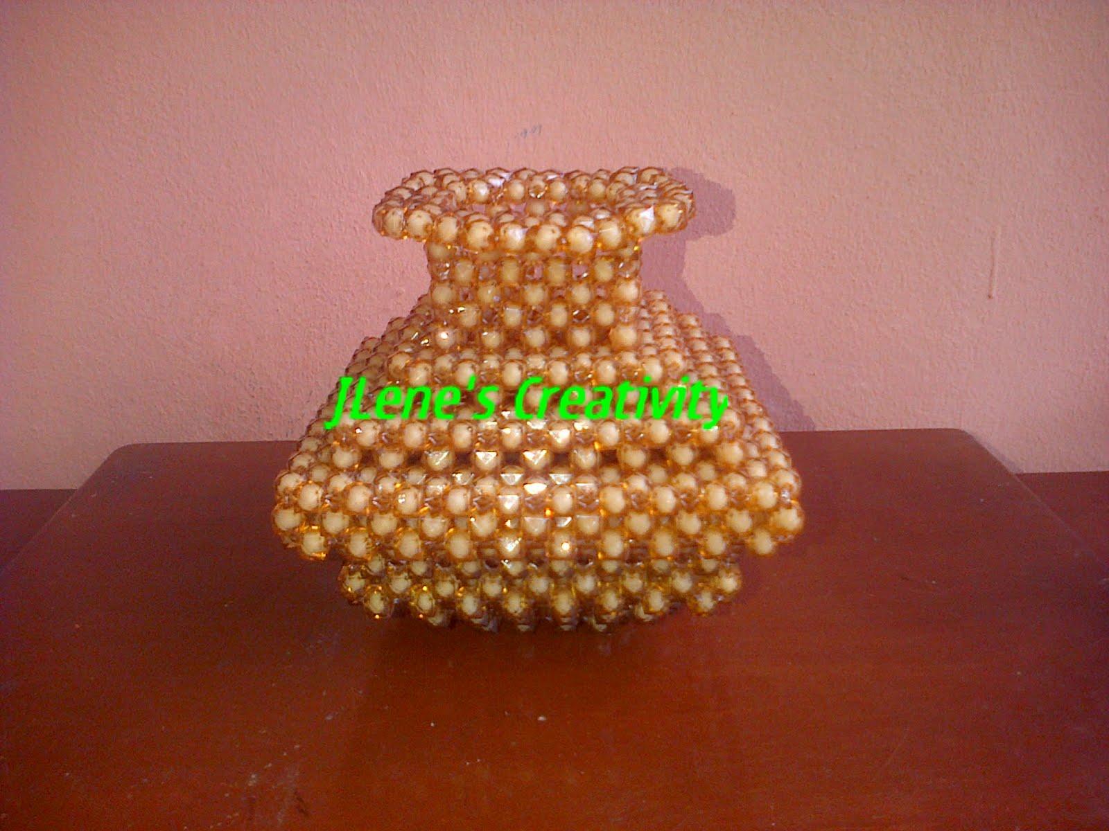 Jlenes creativity beaded flower vases beaded square flower vase reviewsmspy
