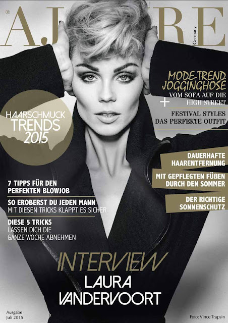 Actress @ Laura Vandervoort - Ajoure Magazin, July 2015