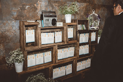 seating boda cajas