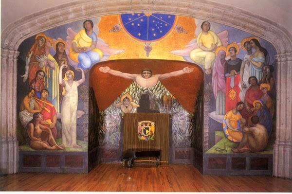 Cr nicas de una mente da ada los murales perdidos de for Mural de rivera