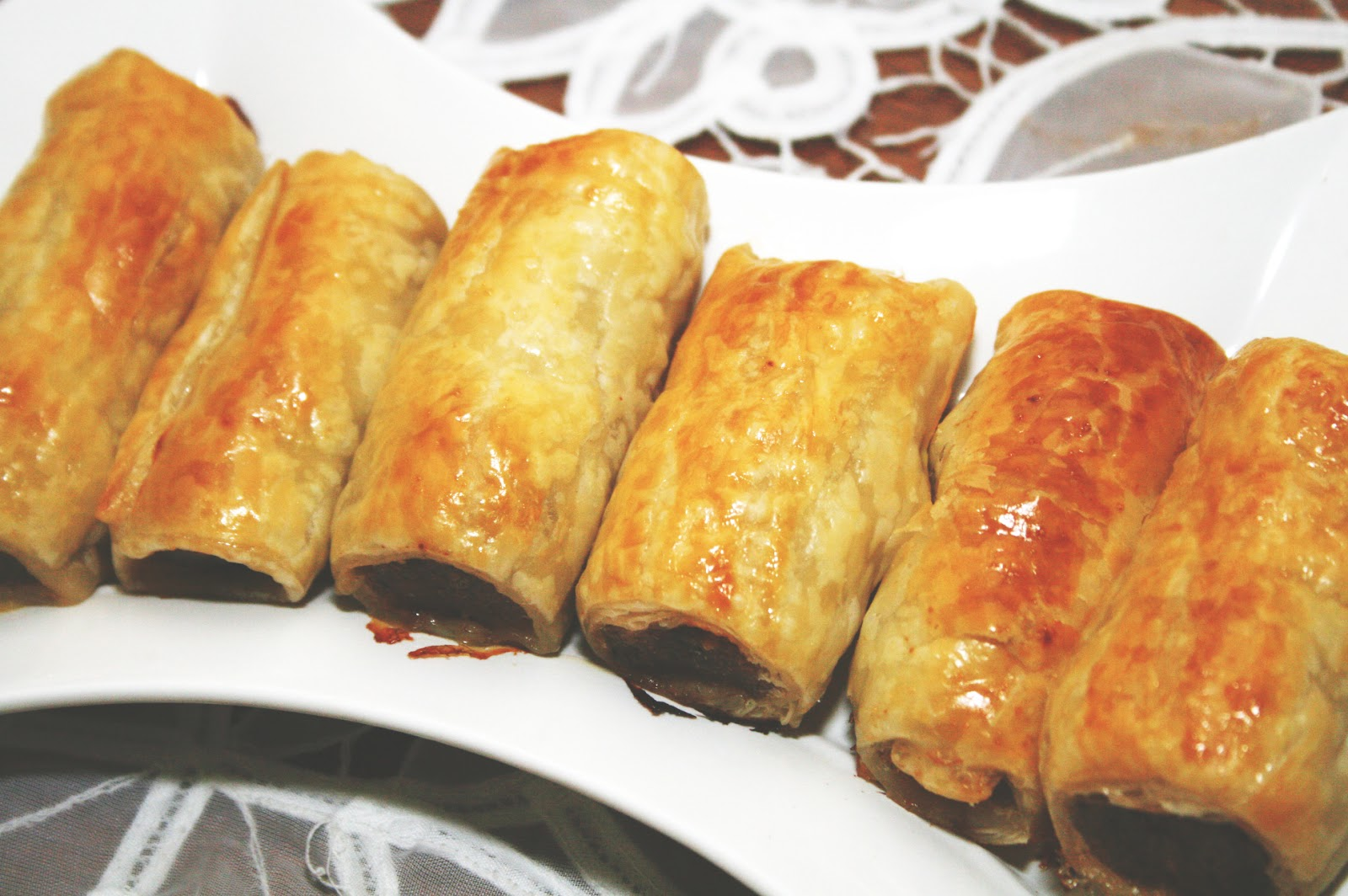 always liked sausage rolls in my time as a student in oz sausage rolls ...