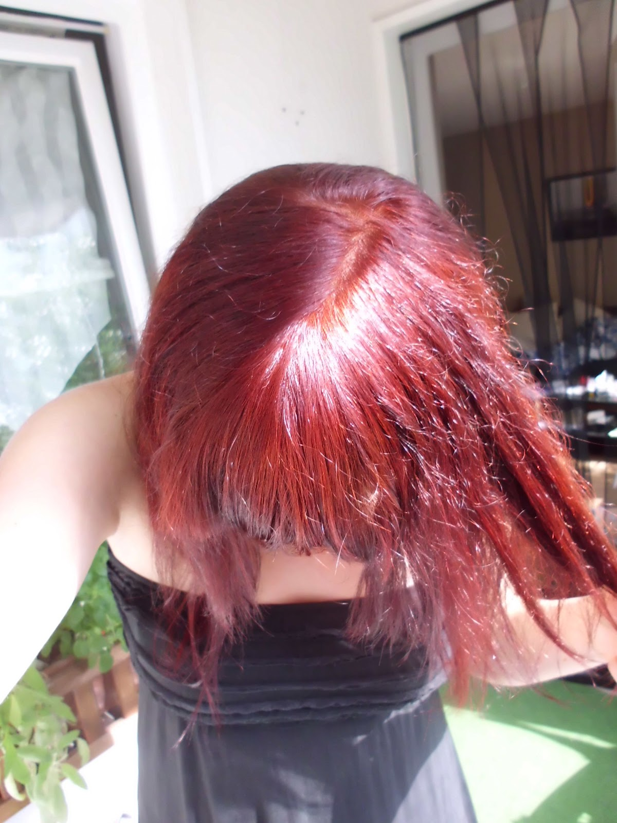 Tales from a twilight world rot rot rot sind alle meine haare - 10 minuten haarfarbe ...