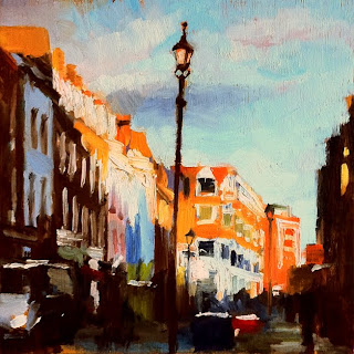 Winter Sun on Exmouth Market-by-Liza-Hirst