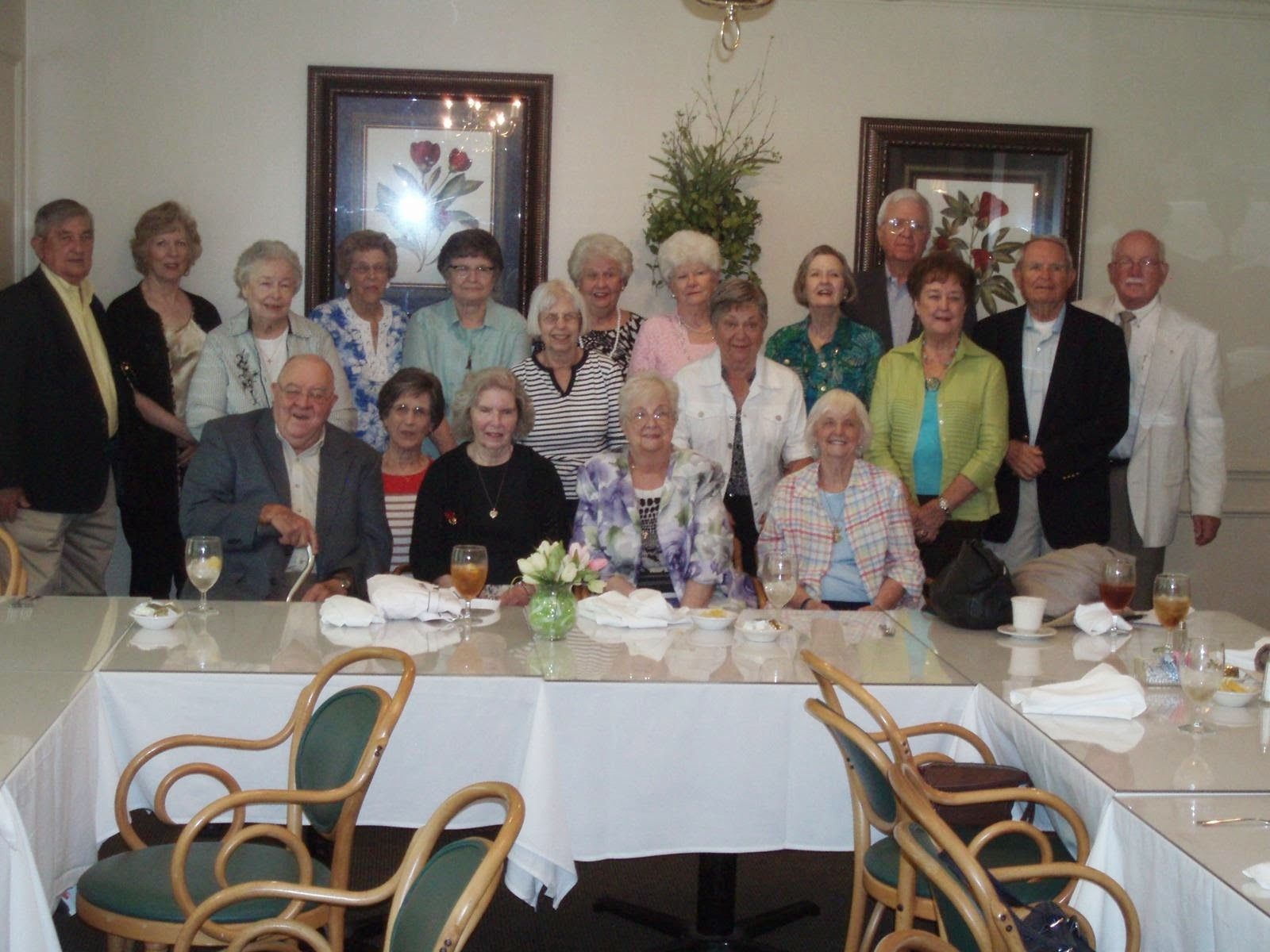 Montgomery Catholic 1950's Reunion Lunch Held at Arrowhead Country Club 1