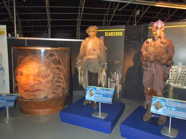 Doctor Who revival alien costumes