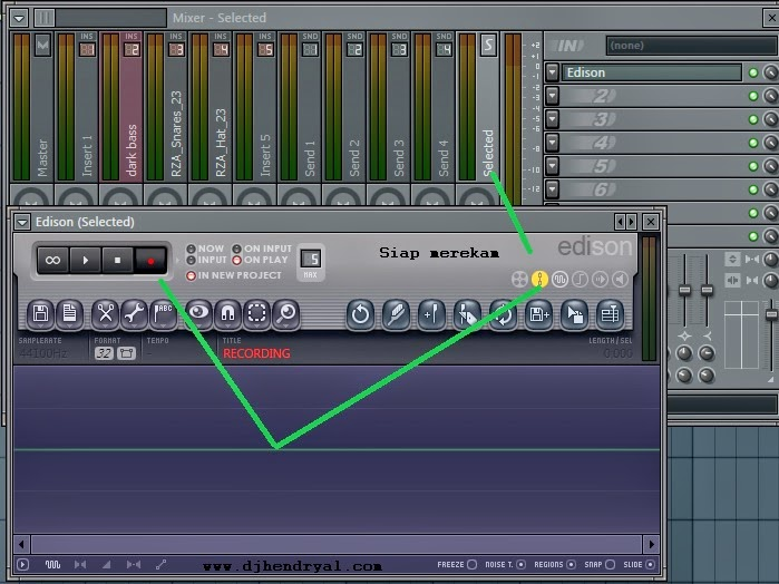 Cara merekam beatloop di fl studio