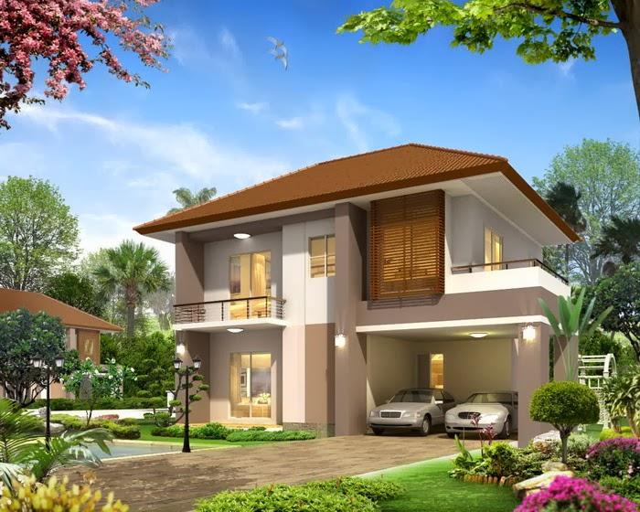 rumah minimalis unik dan modern desain interior