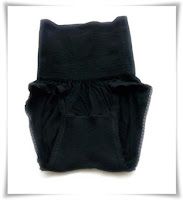 Black in colour of Panties Japan High Waist Hip Up Shorts