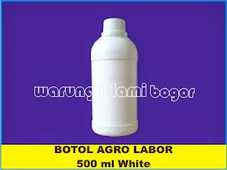 Jual Botol HDPE 500ml Putih Susu