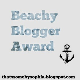 Beachy Blogger Award!!
