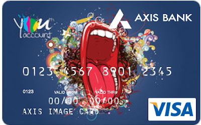 Axis Bank Debit Card With Images