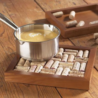 wine cork projects trivets