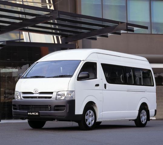 Cho thuê xe Toyota Hiace Commuter 16 chỗ