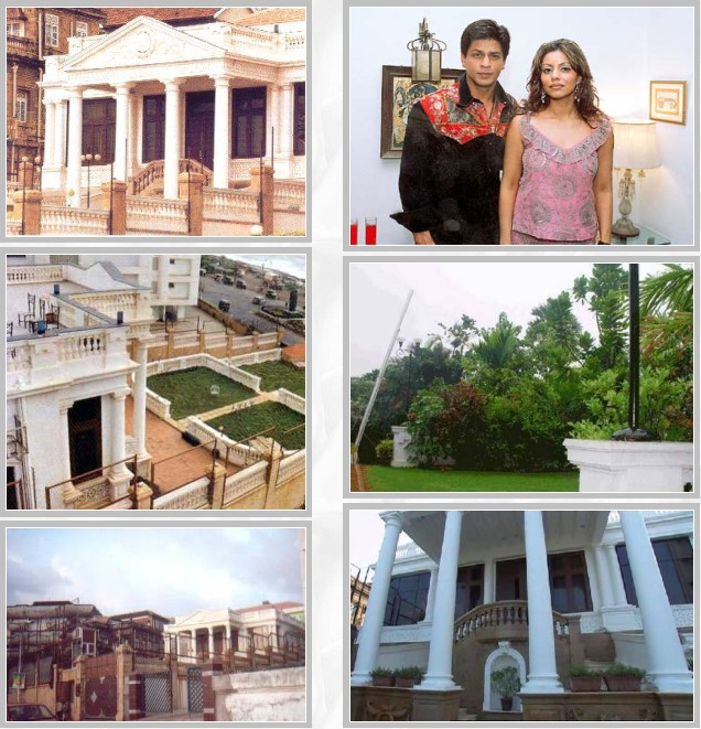 entertainment world shahrukh khan house