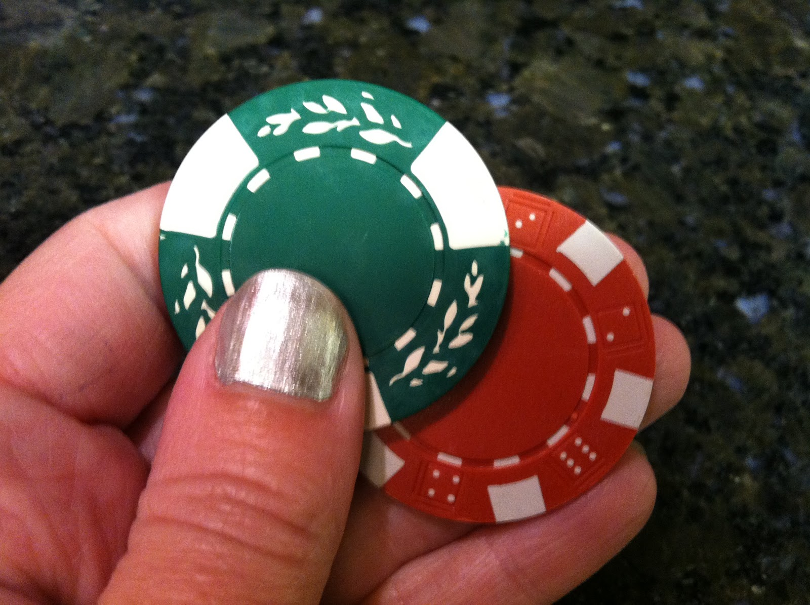 The Iced Queen: Royal Icing Poker Chips