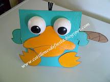 Caja Perry el Ornitorrinco