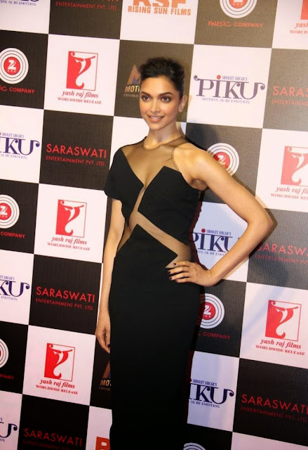 Deepika Padukone in a Hot Black Gown