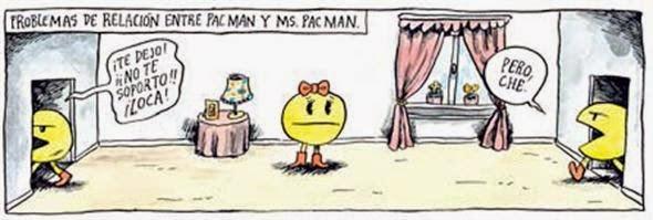 Problemas de relación entre Pacman y Ms. Pacman