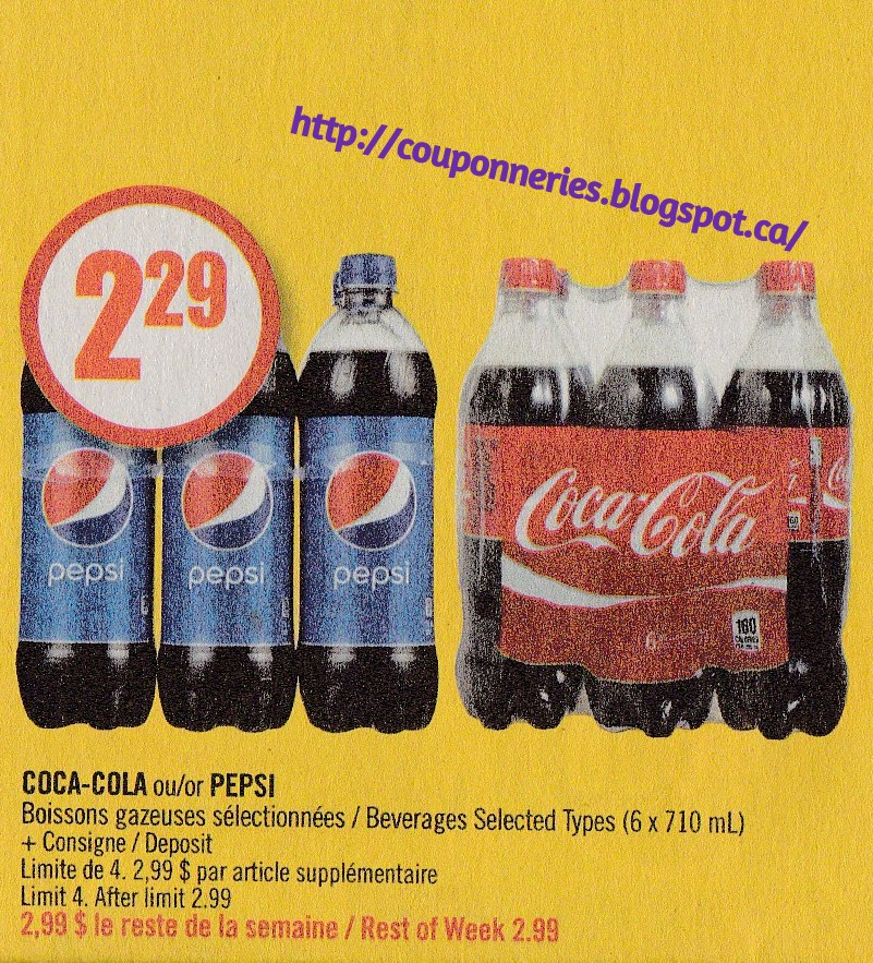 Pepsi cola product coupons