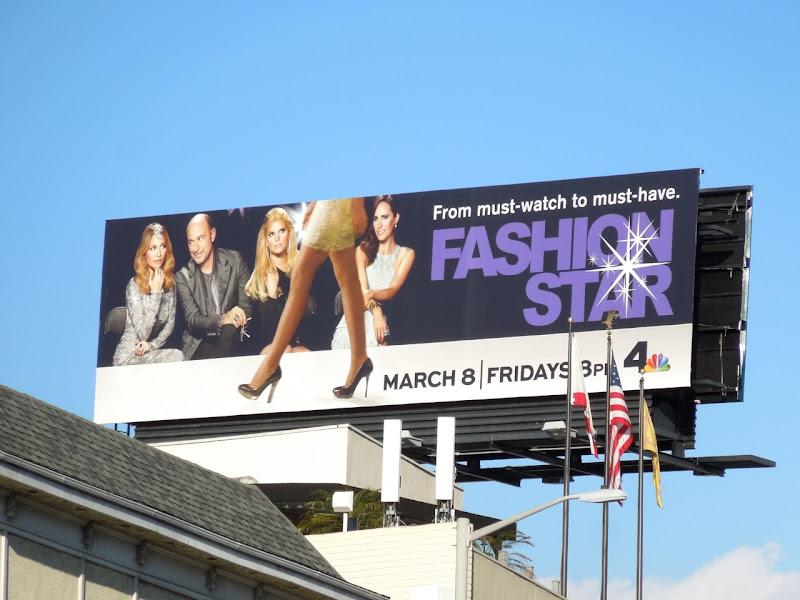 Fashion Star season 2 billboard