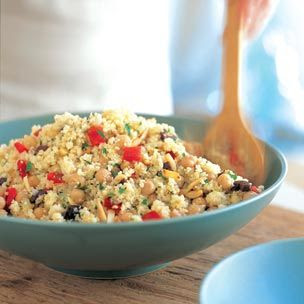 My Kitchen By The Lake: Lemon Couscous With Chickpeas, Red Peppers And ...