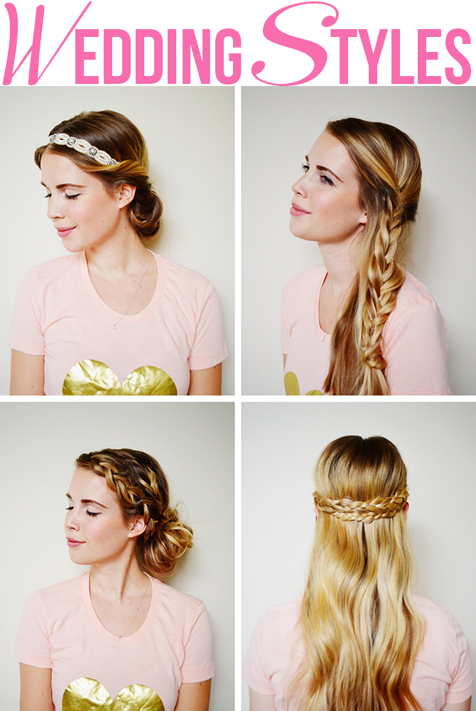 his little lady: SUMMER WEDDING HAIRSTYLES