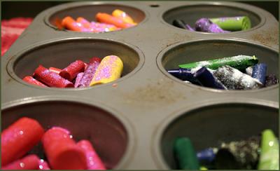 Recycled Crayon Crayons