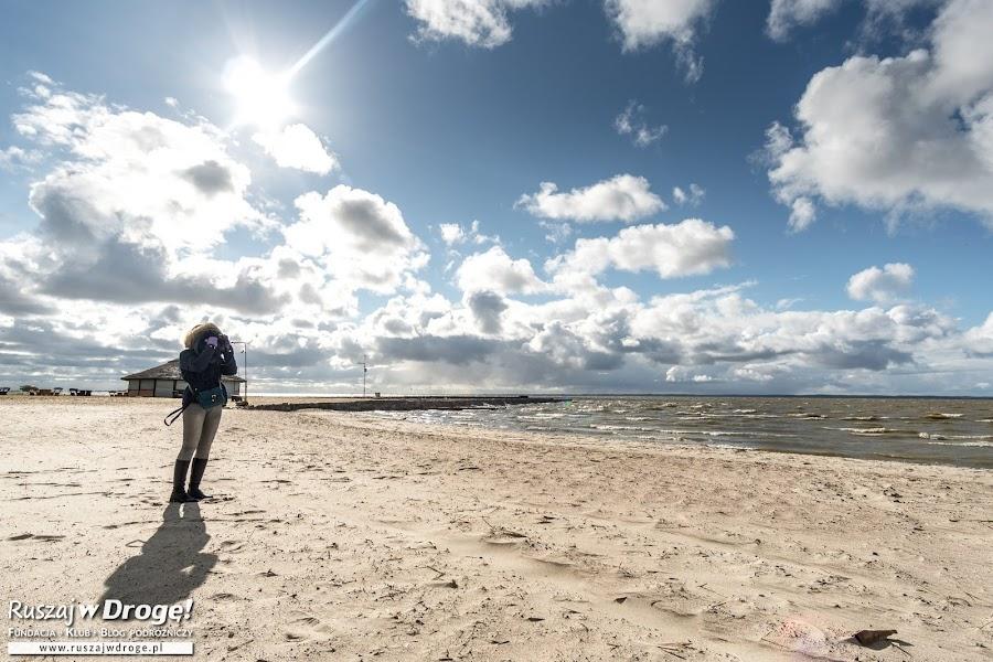 Plaże nad Zalewem Wiślanym