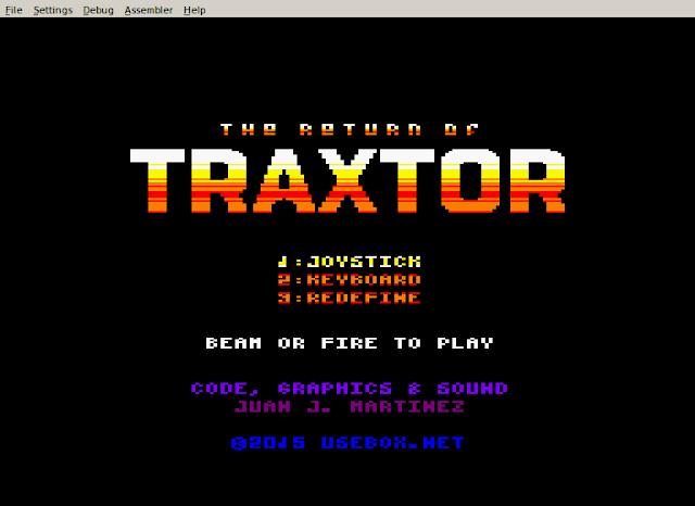 Que no pare la fiesta del CPC: Iniciado el port de The Return of Traxtor para Amstrad