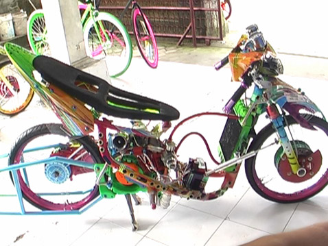 Cara Korek Harian Yamaha Vixion