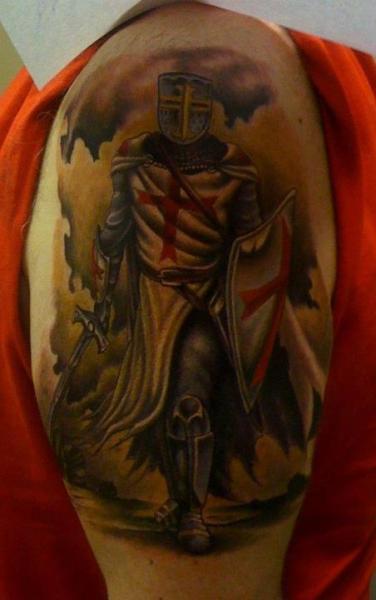 Tatuaje Caballero Templario