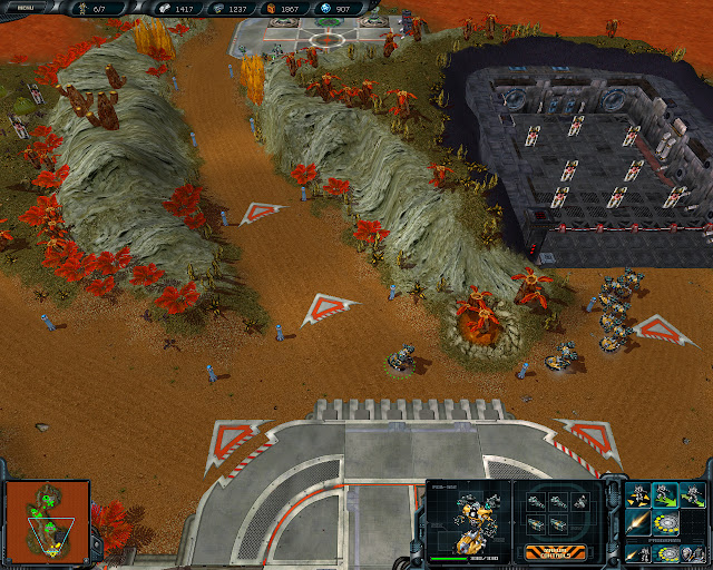Space Rangers: A War Apart - Ground Combat Screenshot