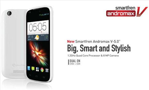 Smartfren Andromax V 5.0