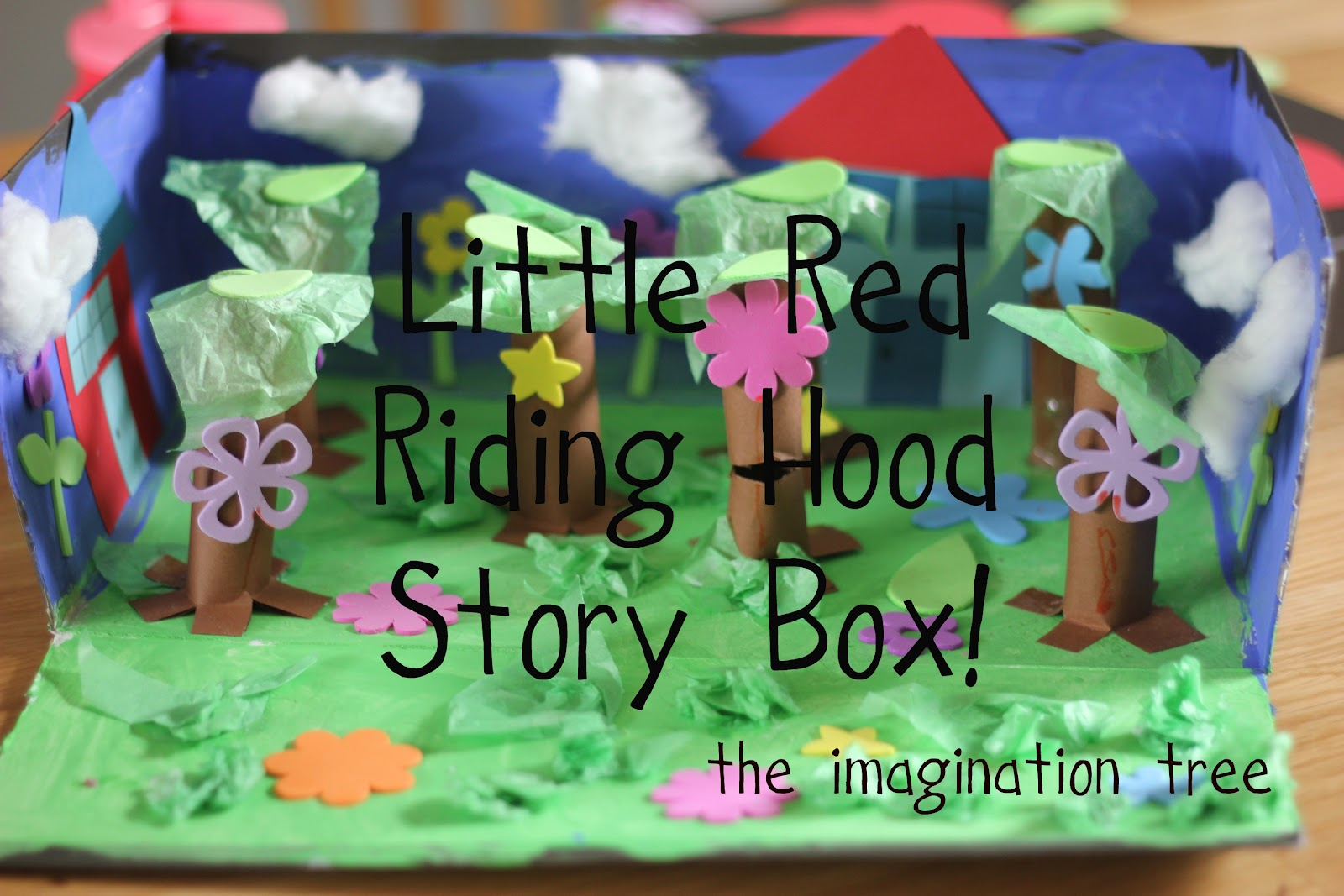 Little Red Riding Hood Story Box The Imagination Tree