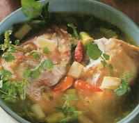 Resep Membuat Sup Kepala Ikan Mudah Kuah Segar