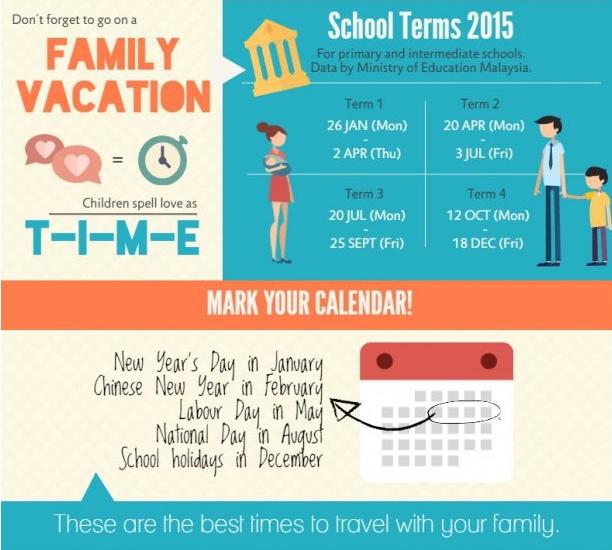 Kalendar cuti 2015