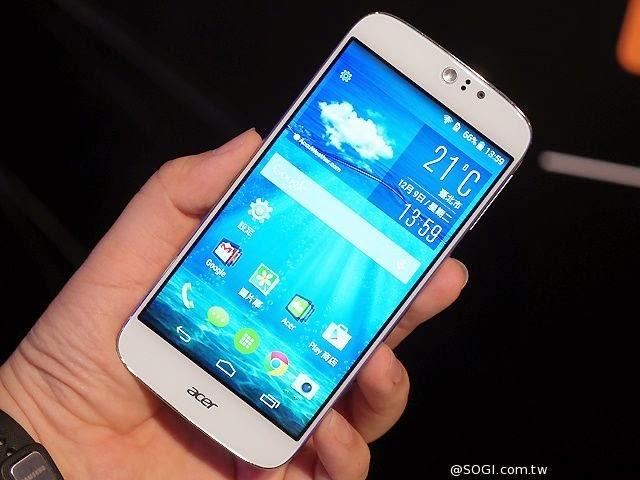 Acer تطلق هاتفها الذكي الجديد Liquid Jade S
